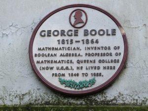 George Boole kimdir, Matematiğe katkıları